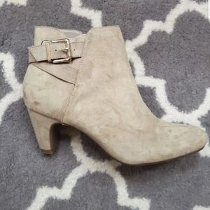 Tan Sam and Libby Booties